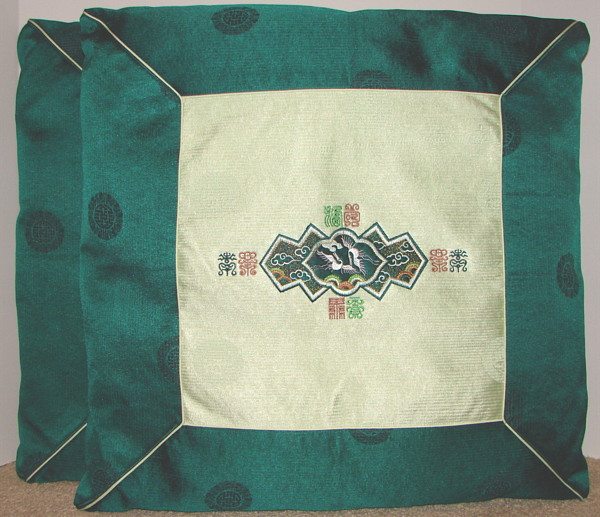 Korean Floor Pillows : item_p102prgreenpillows